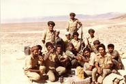 Baluchi members of the battery