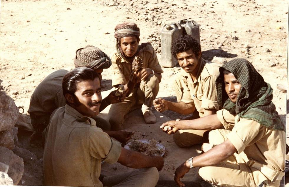 SSgtt Abdul Ghafoor and section