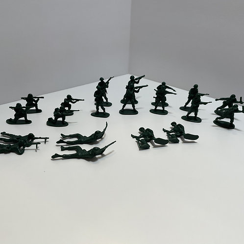 World's Smallest - Army Men