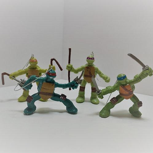Teenage Mutant Ninja Turtles Ornament Set