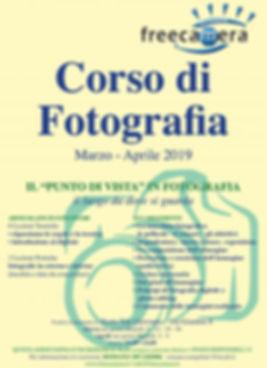 """Corso di Fotografia """"Il Punto di Vista"""""""