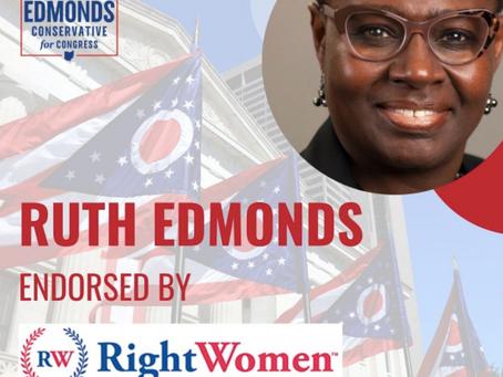 Ruth Edmonds Earns Endorsement from Right Women PAC