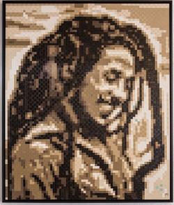 Bob Marley - oil on canvas -