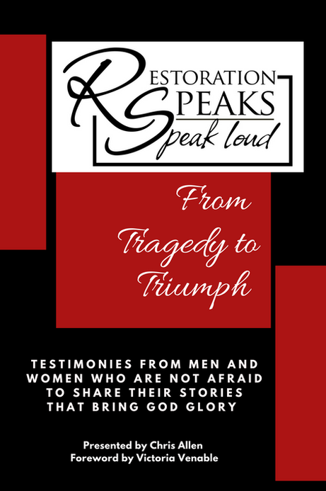 From Tragedy to Triumph Book Cover (front)