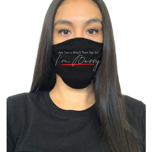 I'm Bossy Mask (Black)