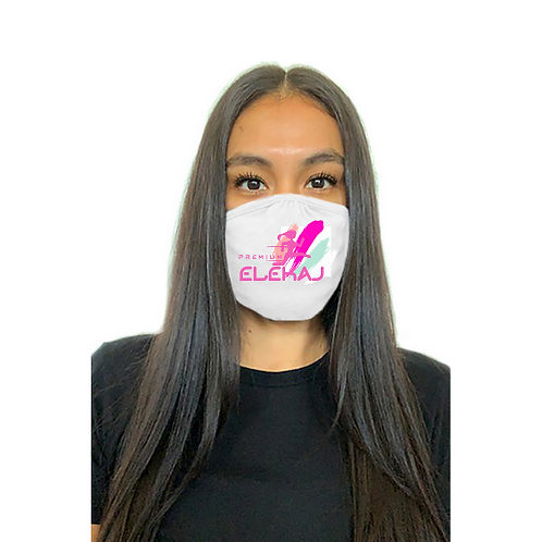 Elekaj Premium Unisex Mask (White)