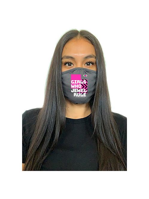 Girls Who Jewel Rule Mask (Gray)