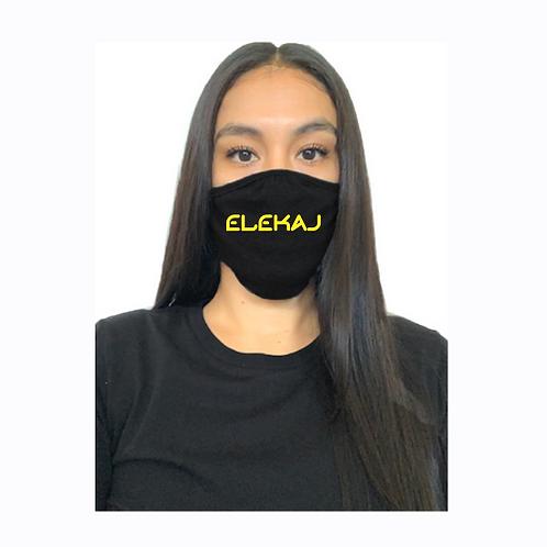 Elekaj Mask Black (Yellow)
