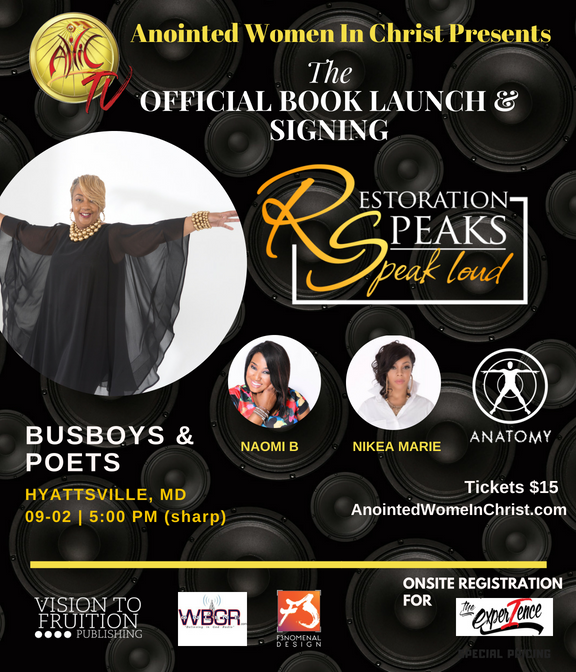 Restoration Speaks Book Launch
