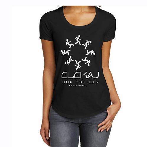 Elekaj Hop Out Jog (Black)