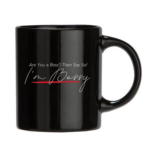 I'm Bossy Mug (Black)