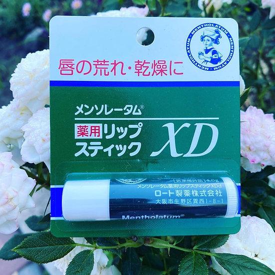японский ментоловый лечебный бальзам для губ