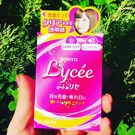 Японские капли для глаз 👁 Rohto Lycee