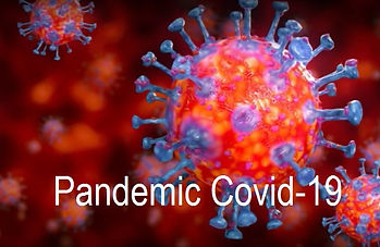Die Pandemic Covid-19 vernichtet Wirtsch