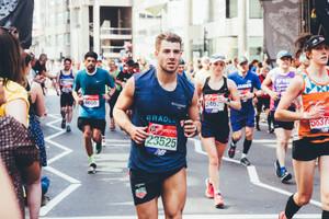 Marathon Day - That was Brutal!