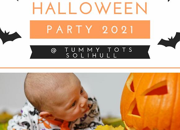 Tummy Tots Halloween Party Thursday 21st October 10am