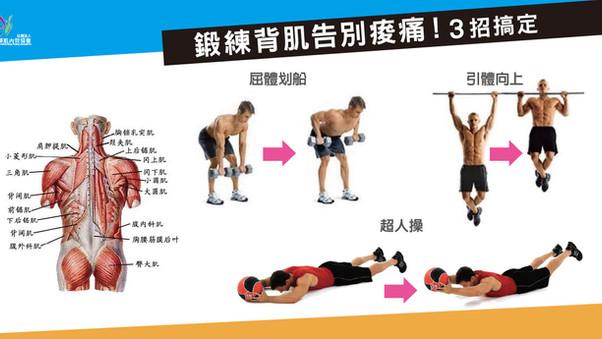 【鍛練背肌告別痠痛!3招搞定】