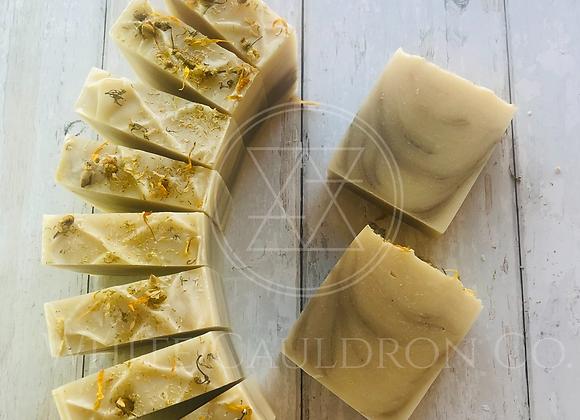 Chamomile & Calendula Tea Soap