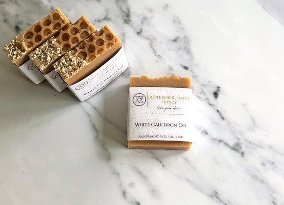 Buttermilk, Oats & Honey Handmade Soap