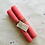 Thumbnail: Hand Rolled Beeswax Candle - Pink