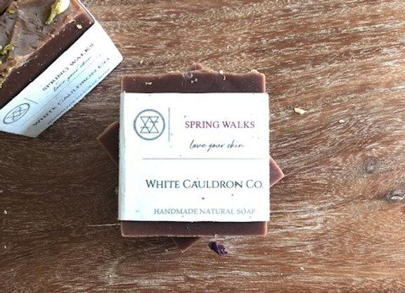 Spring Walks Handmade Soap