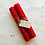 Thumbnail: Hand Rolled Beeswax Candle - Red