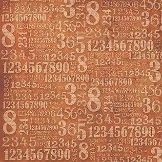 Numbers , Stamperia Single Napkin