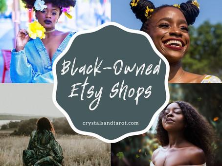 100+ BLACK-OWNED ETSY SHOPS