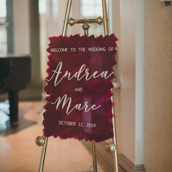 Hand Painted Wedding Welcome Sign.JPG
