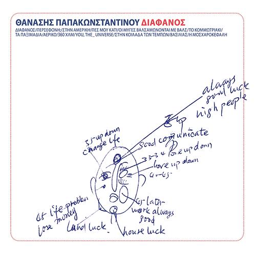Θανάσης Παπακωνσταντίνου - Διάφανος (CD)