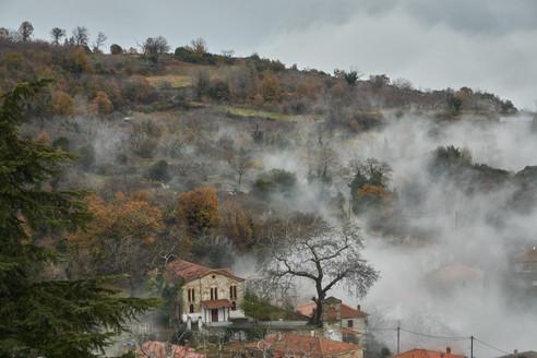 Megalovryso with fog