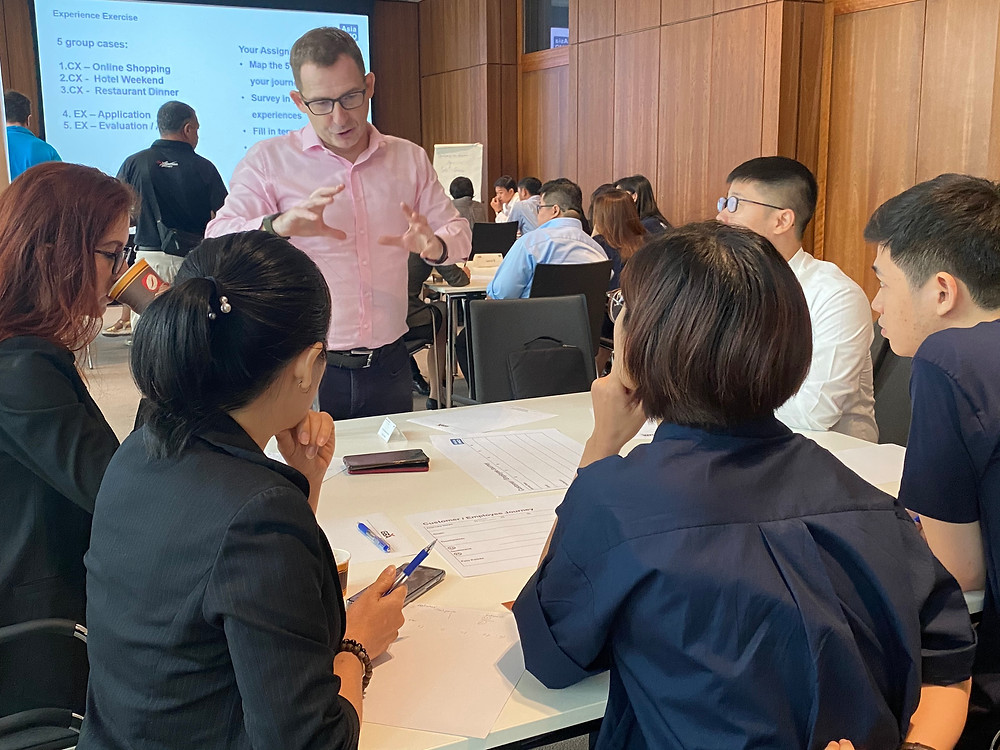 Carsten Ley conducted the Experience Management Workshop at GBA
