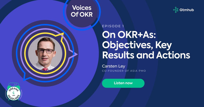 GTMHub Voices of OKR Carsten Ley