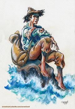 Fisherman ArsenicART Sasa Arsenic Sasha