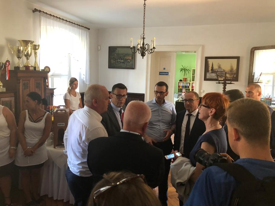 Wizyta premiera Mateusza Morawieckiego