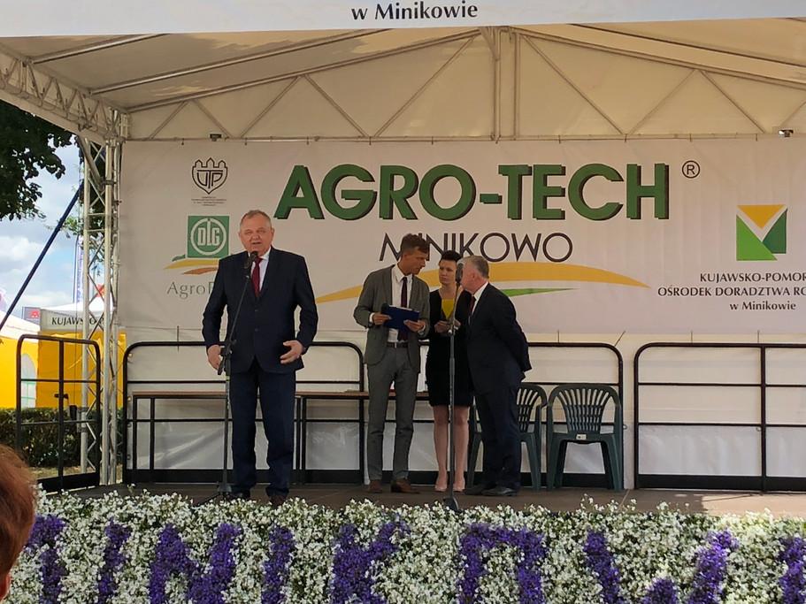 Targi AGRO-TECH w  Minikowie