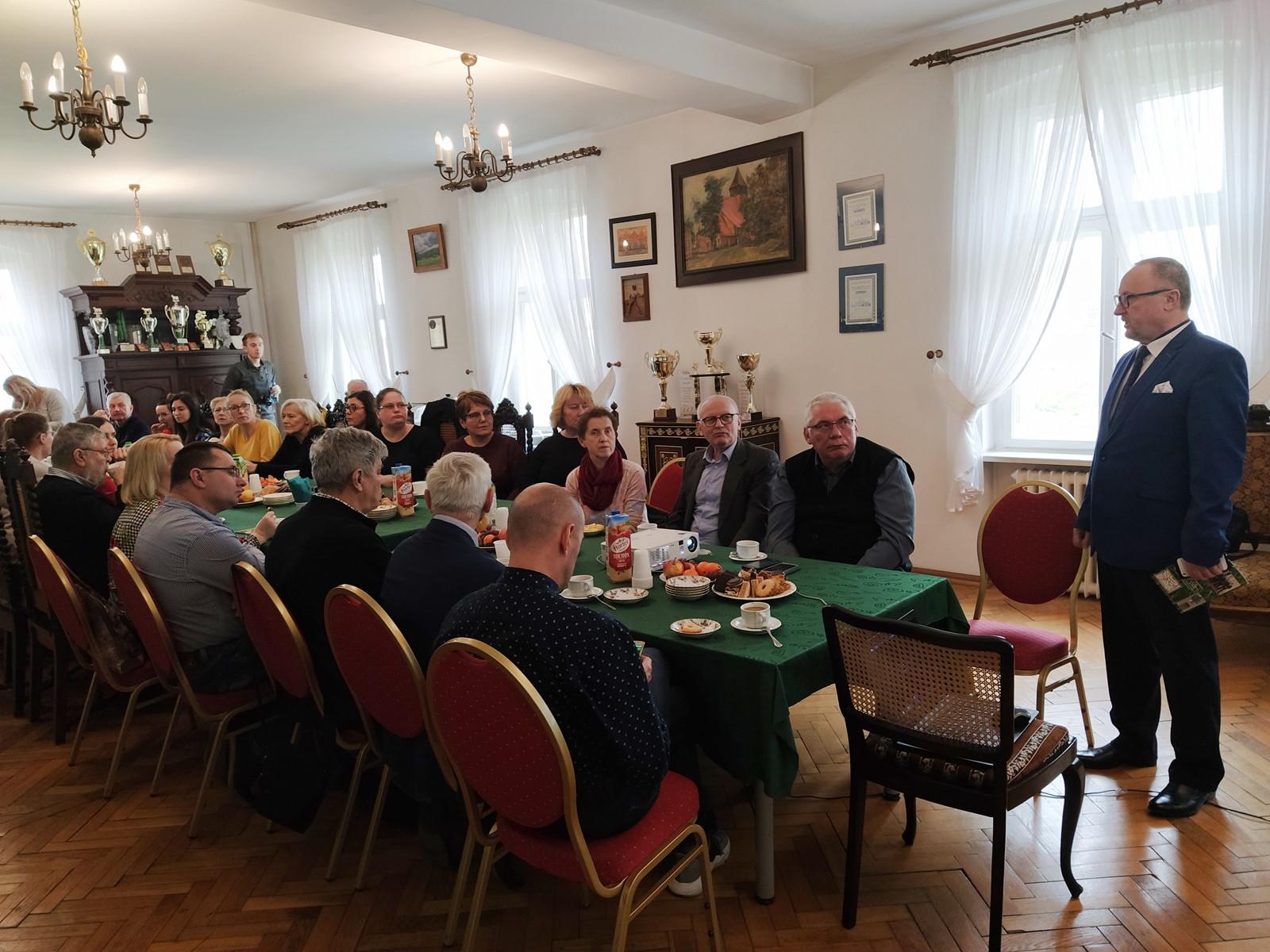 Wizyta doradców rolnych z województwa wielkopolskiego