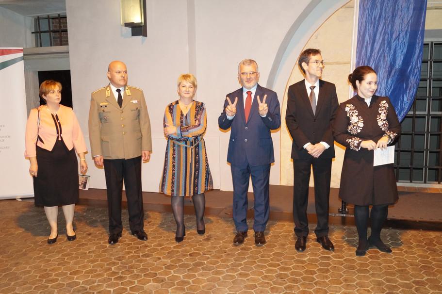 Wizyta w Ambasadzie Węgierskiej