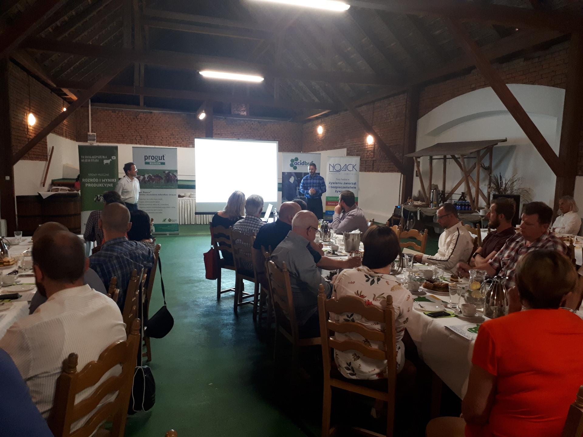 Konferencja zorganizowana przez Firmę NOACK Polen Sp. z o.o.