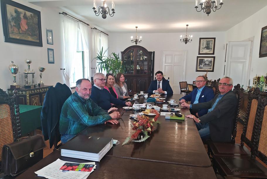 Goście z Cukrowni Nordzuker z Opalenicy
