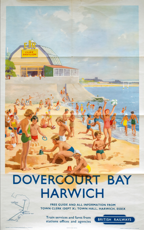 Dovercourt Bay Holiday Poster