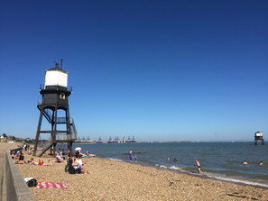 The Lighthouses and Dovercourt Beach