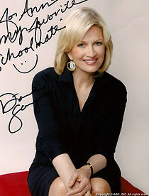 Diane Sawyer, see her personal handwritng analysis report.