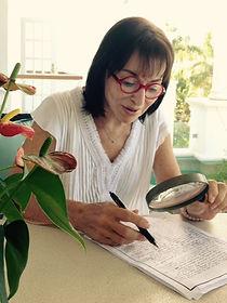 Shelia Kurtz, Master Graphologist
