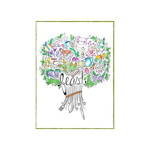 Feast Greeting Card