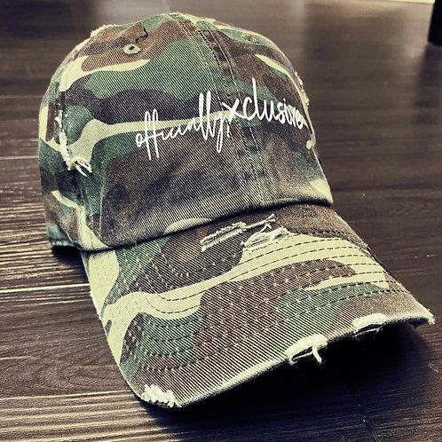 O.X Signature Camouflage Cap