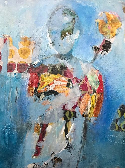 """Inner Landscape 16""""x20"""""""