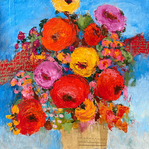 """Flowers For You 20""""x20"""""""