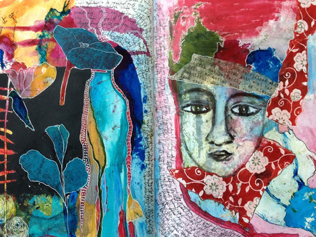 Find Yourself In Art Journaling