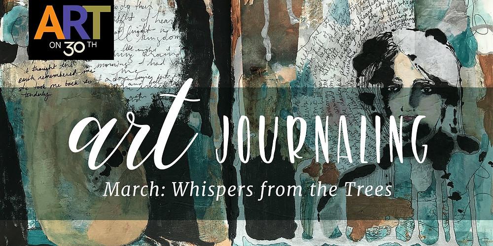 March Art Journaling Workshop